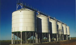 Elevated Silos